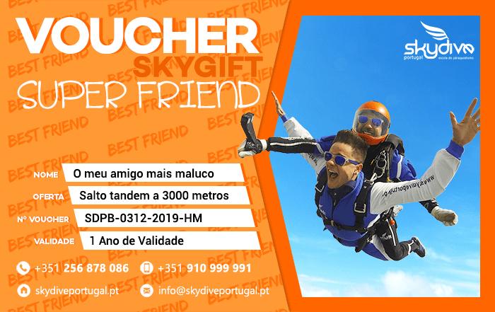 Voucher Super Friend Skydive