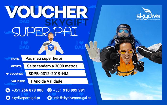 Voucher Super Pai Skydive